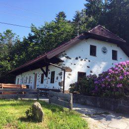 Eidenberghaus im Sommer